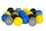 Piłeczki dla dzieci - szare,żółte,czarne,niebieskie