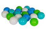 Piłki do zabawy w wodzie - białe,turkusowe,błękitne,limonka