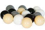 Piłeczki do dziecięcych basenów - kolor biały,czarny,szary,beżowy