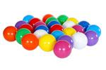 Plastikowe piłeczki do basenów - 9 kolorów