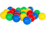 Plastikowe piłeczki w 4 kolorach